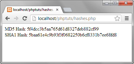 PHP Security Function