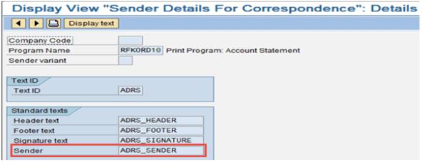 SAP Correspondence Tutorial: Configuration, Generation