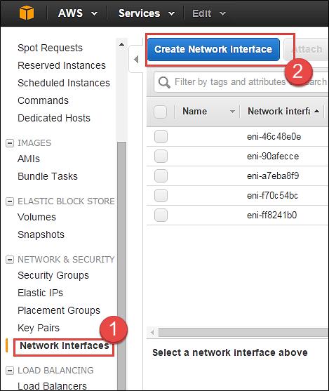 Modifying the Amazon EC2 instance parameters