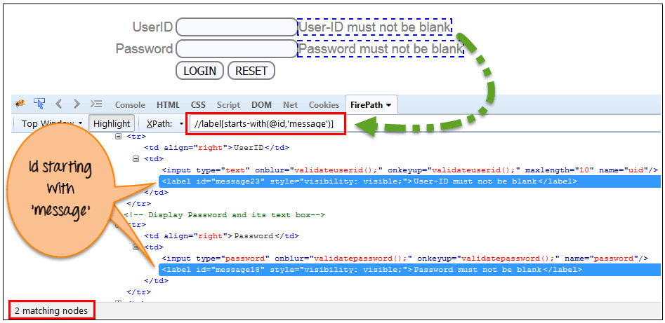 How to get text using xpath in selenium