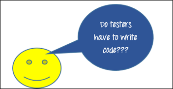Do testers have to write code?