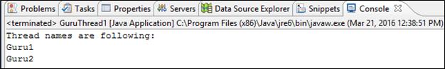 Java Multithreading Example