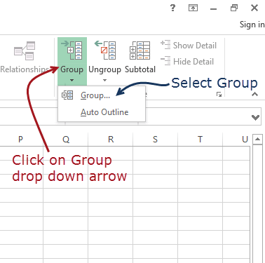 Getting Started with Microsoft Excel