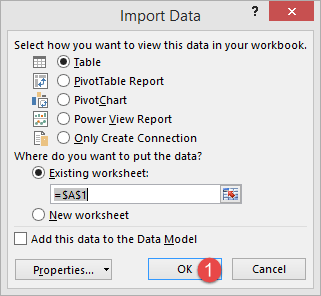 How to Import Data into Excel from Access, XML, Text file, SQL Server