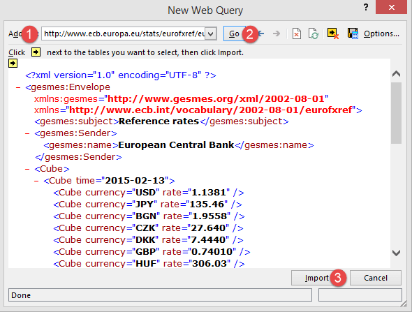 Connecting Microsoft Excel to External Data Sources