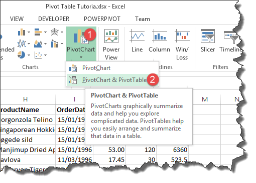 Excel pivot table tutorial & sample | productivity portfolio.