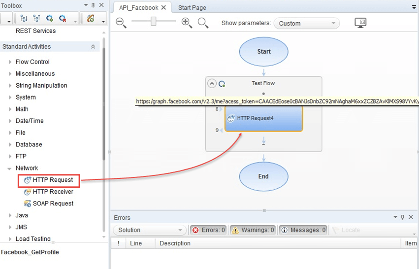 How to test API using HP QTP/UFT
