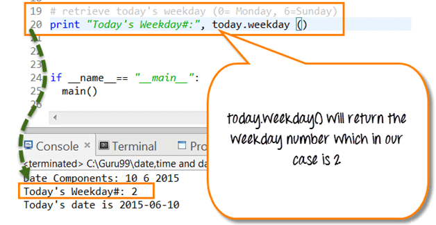 ... time delta can be used to calculate future date from current date and