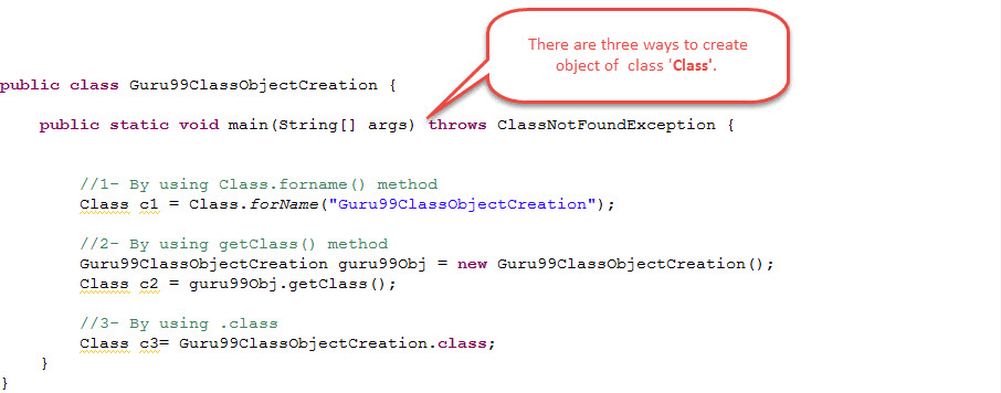 Java Reflection API Tutorial With Example
