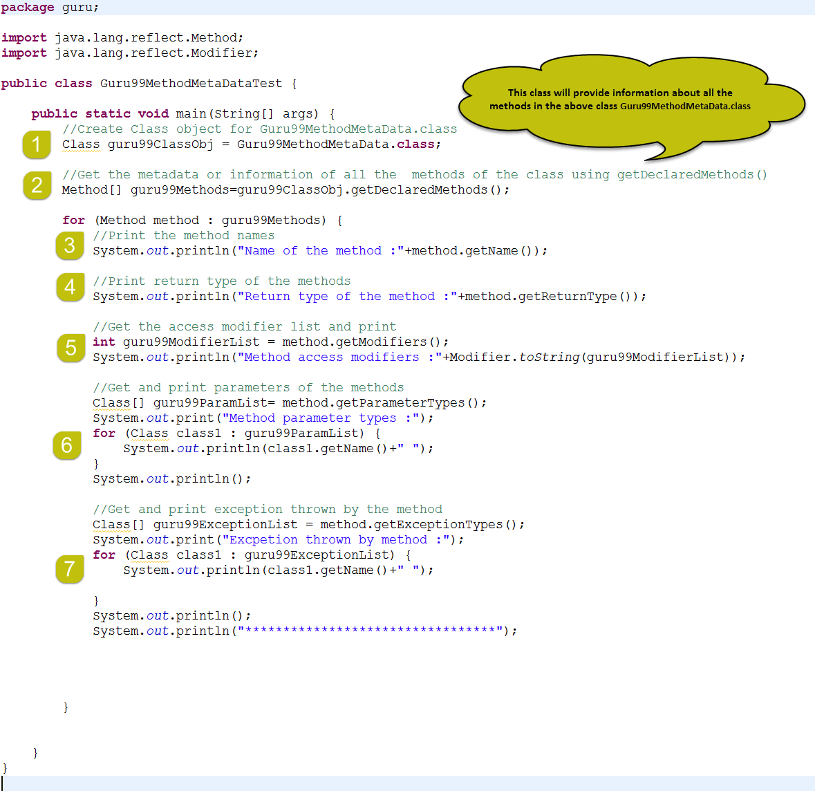 how to call a method in java reflection
