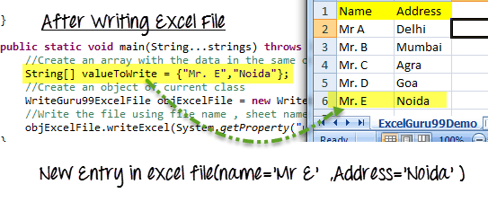 Read/Write Data from Excel File in Selenium Webdriver