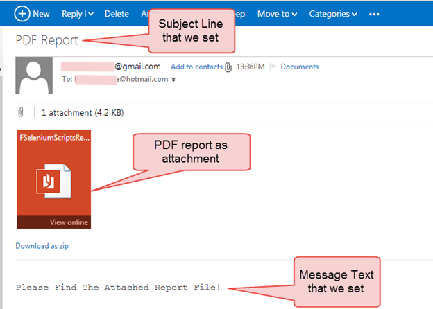 Customize, PDF & Email TestNG Reports in Selenium WebDriver
