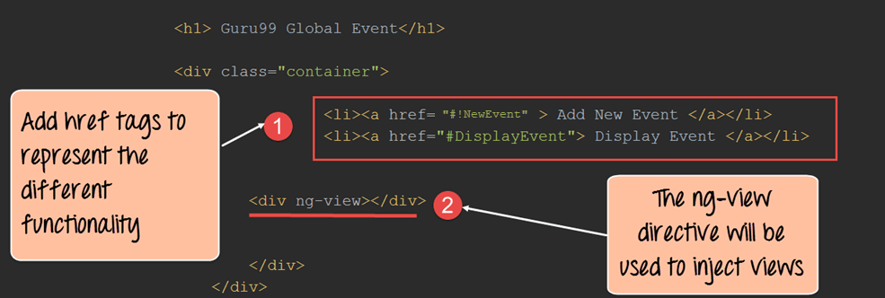 Angularjs Ng View With Example