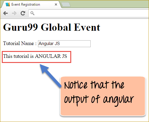 Uppercase AngularJS Filter Example