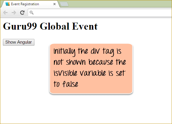 Example of ng-show in AngularJS