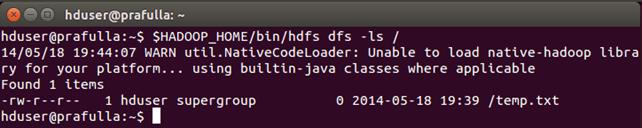 HDFS Tutorial: Read & Write  Commands using Java API