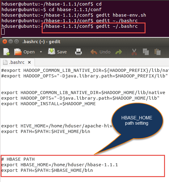 HBase Pseudo Distributed Mode Installation