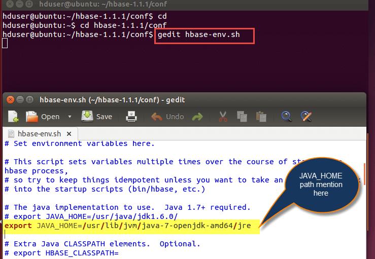 How To Install HBase in Ubuntu