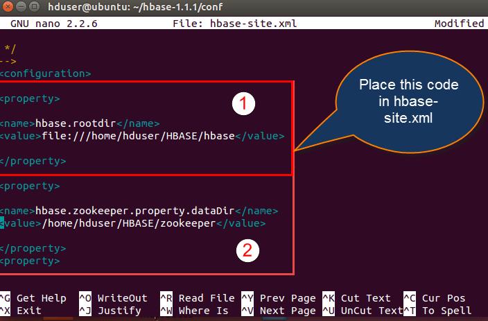 Installation of HBase in Ubuntu