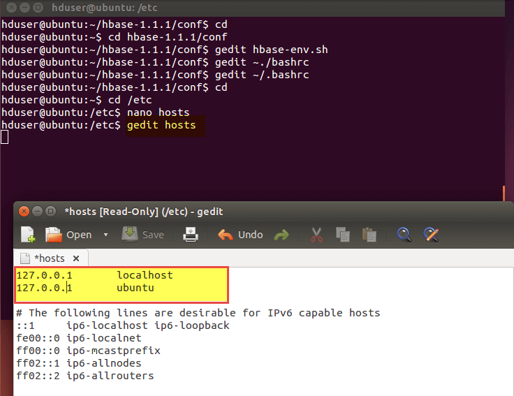 Apache HBase Installation in Standalone mode