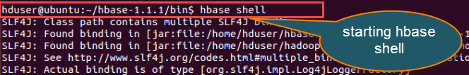 HBase Shell and General Commands