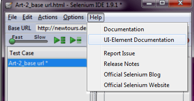 Introduction to Selenium IDE