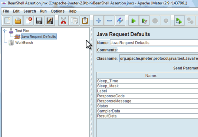 Hands on with JMeter GUI