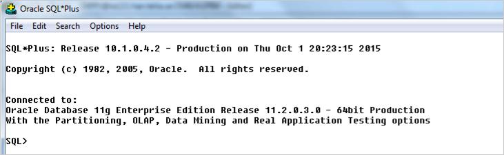 PL SQL First Program: Hello World