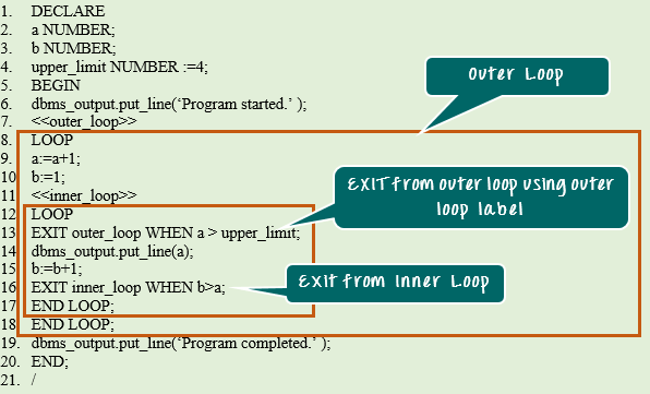 Oracle PL/SQL LOOP with Example