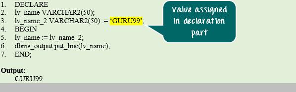 PL/SQL Identifiers