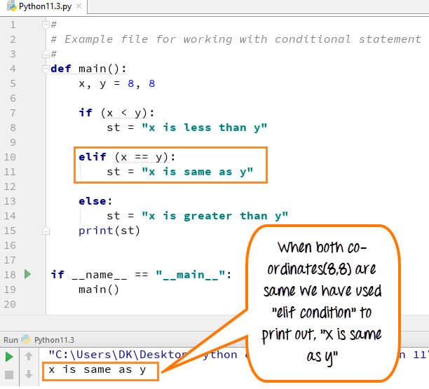 Python Conditional Statements: IF, ELIF, ELSE Nested IF