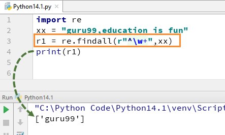 Python Regex Tutorial: re.match(),re.search(), re.findall(), Flags