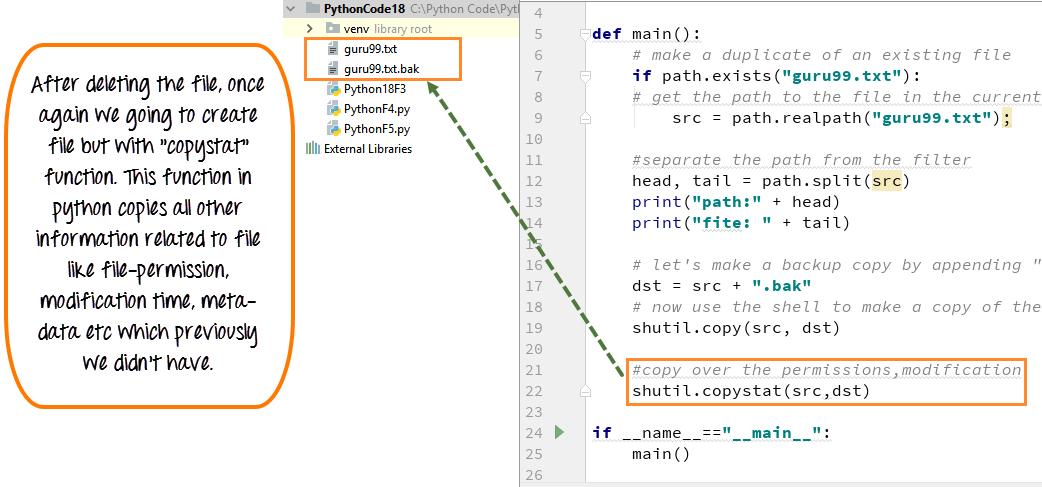 Python OS Module, Shell Script Commands