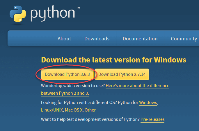 python 3 6 download