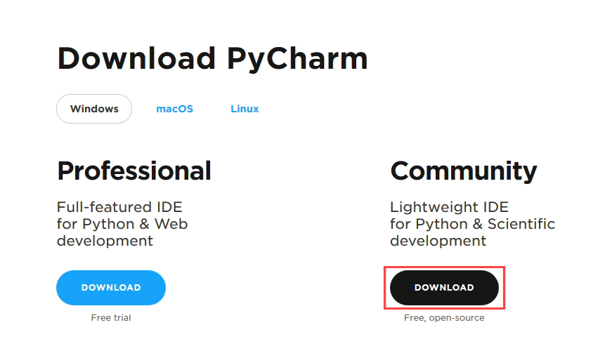 How to Install Python on Windows [Pycharm IDE]