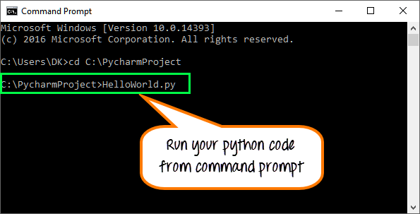 Hello World: Create your First Python Program