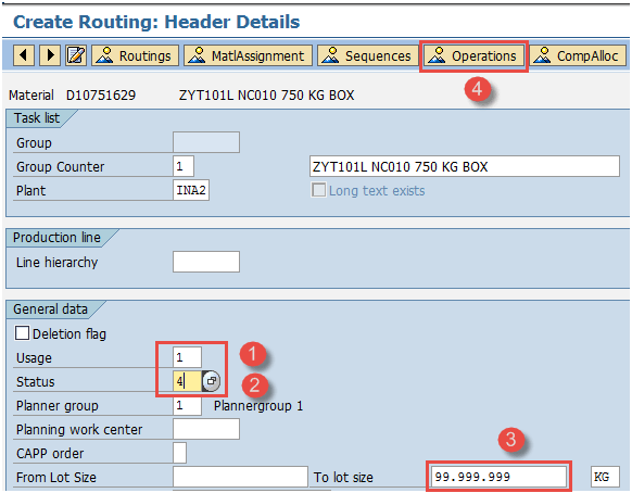 How To Create Change Display Routing In Sap Pp