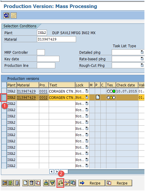 How to Create Production version in SAP PP C223