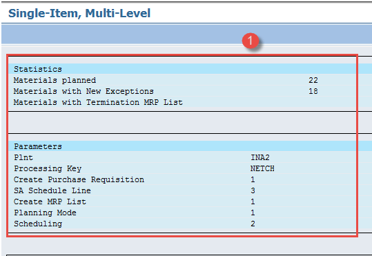 SAP MRP (Material Requirement Planning) Tutorial: MD01, MD02