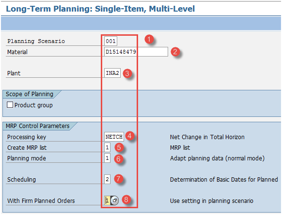 Long Term Planning (LTP) Tutorial in SAP PP: MS31, MS02, MD61