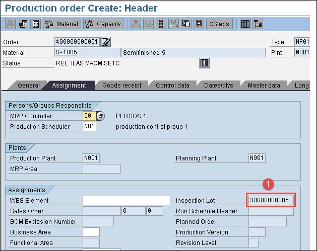 In-Process Inspection SAP QM: CO01 & QA32