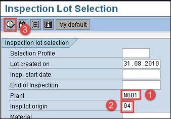 SQP QM: Final Inspection CO01 & QA32