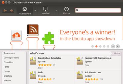 Installing a software using Linux/Unix commands