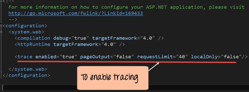 Asp.Net - Tracing, Debugging, Error Handling