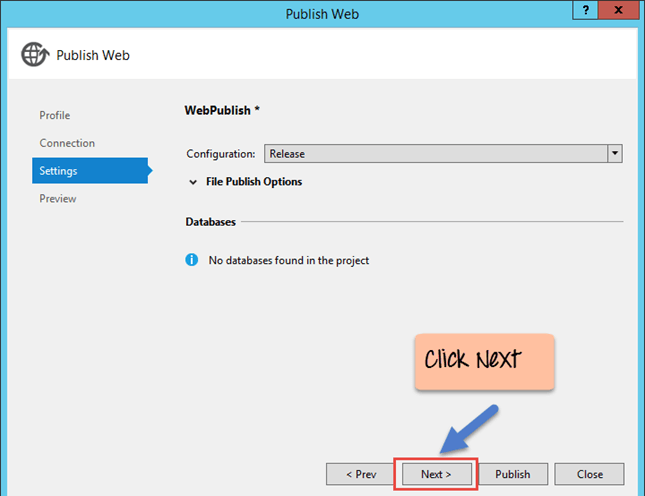 Deploying a website on IIS