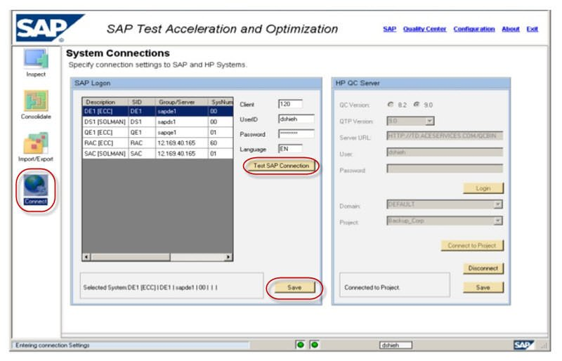 Using SAP TAO for Business Processing Testing