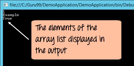 C# ArrayList Tutorial with Examples