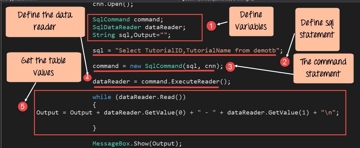 C# Access Database
