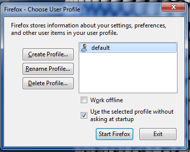 How to Create Firefox Profile in Selenium WebDriver