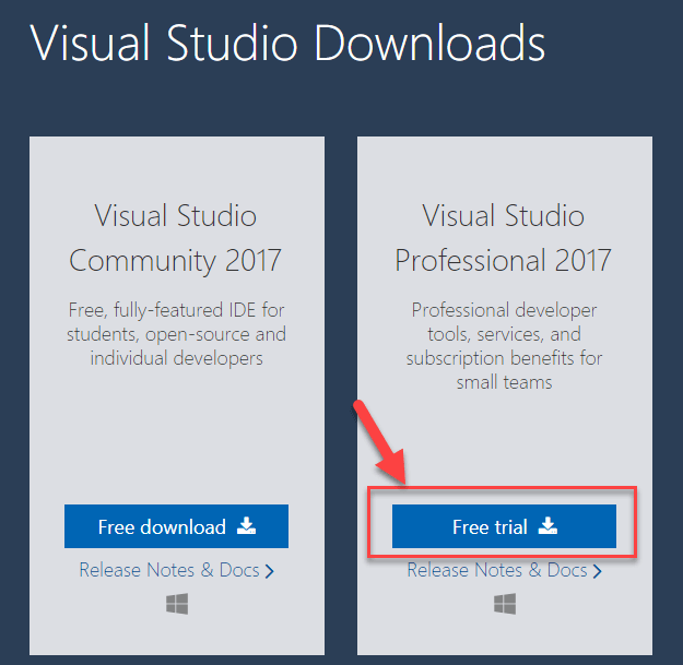 visual studio 2017 free download full version with crack offline installer